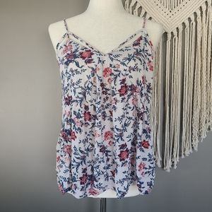 AEO | Flowy Floral Viscose Cami Top size XL